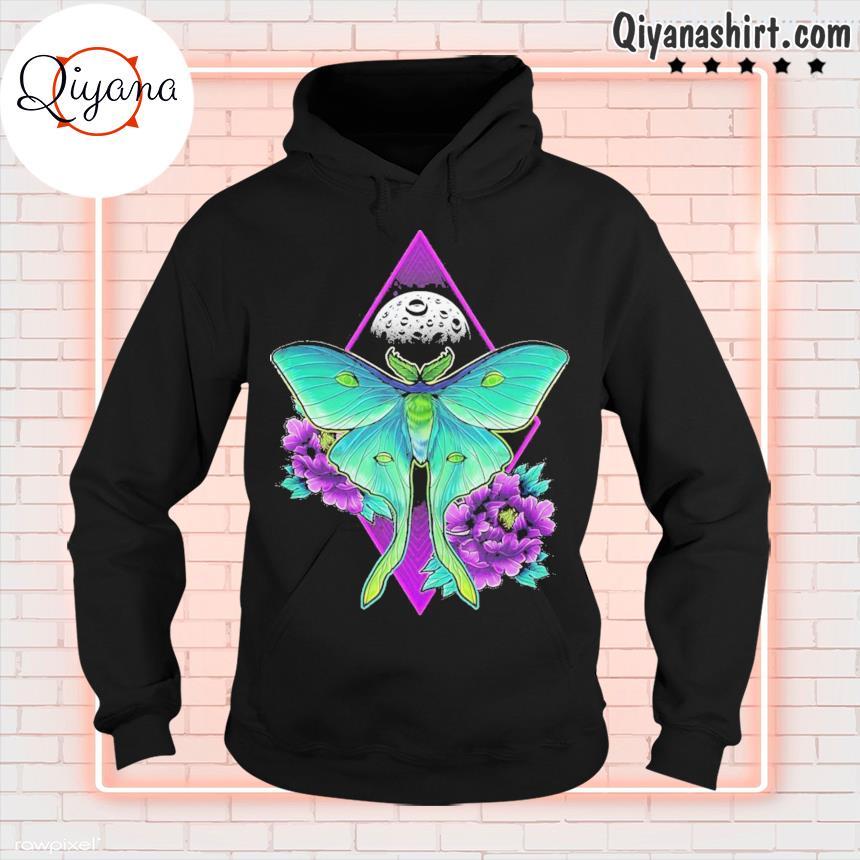 220 luna moth ideas hoodie-black