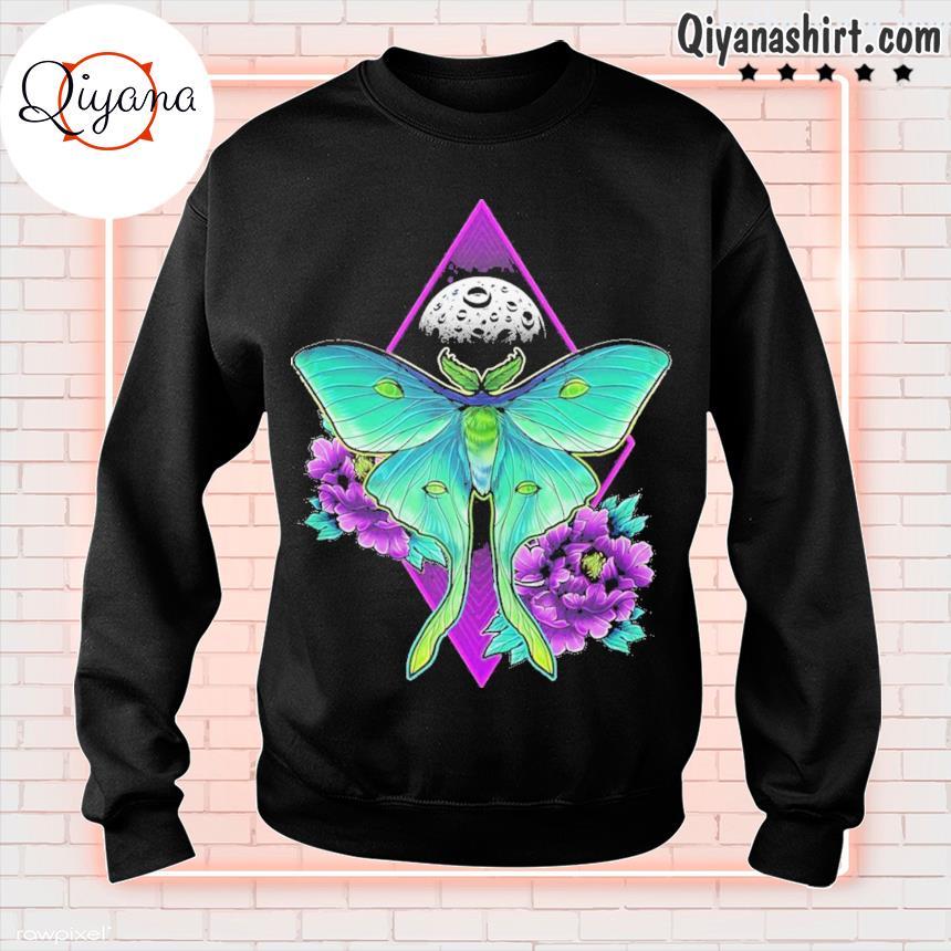 220 luna moth ideas sweatshirt-black