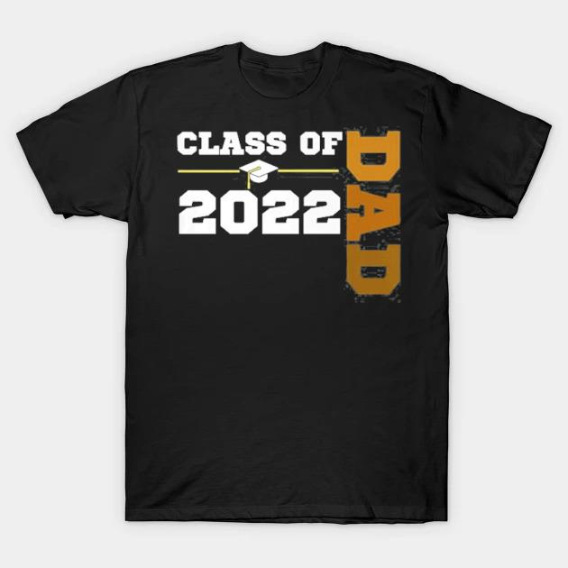 Class of 2022 senior class grad proud dad melanin hbcu color shirt