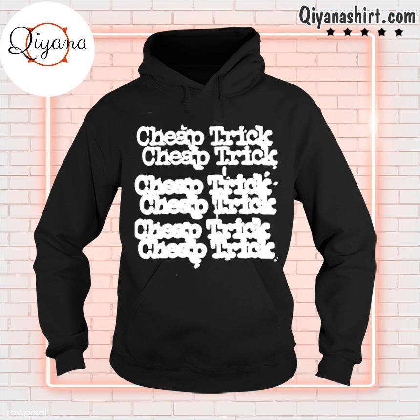 Official cheap tricks tee hoodie-black
