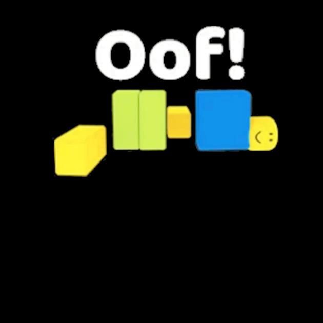 Oof roblox oof meme gaming noob for kids kids preview