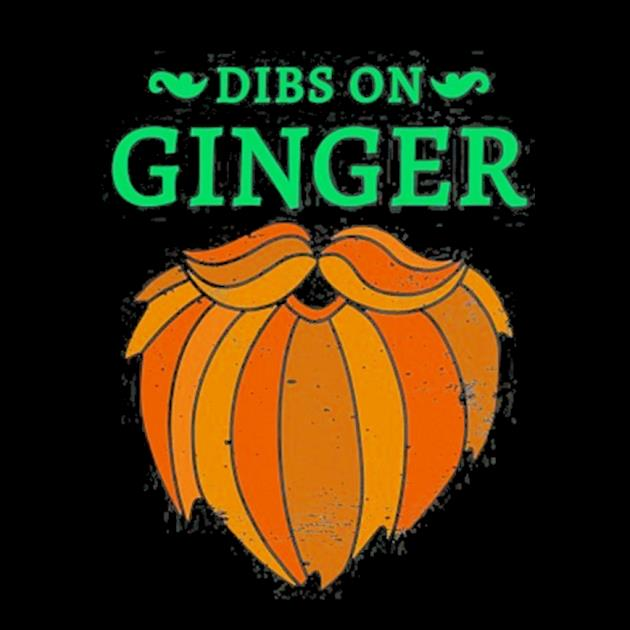 Vintage st. patrick's day dibs on the ginger red beard irish preview