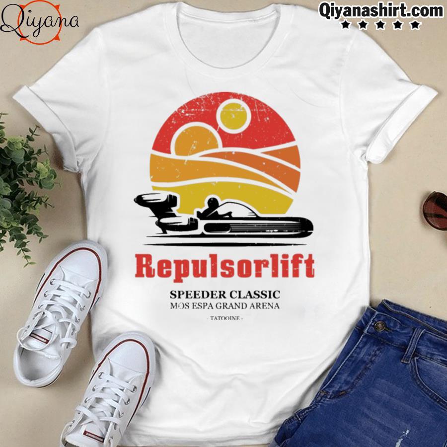 Repulsorlift speeder classic shirt