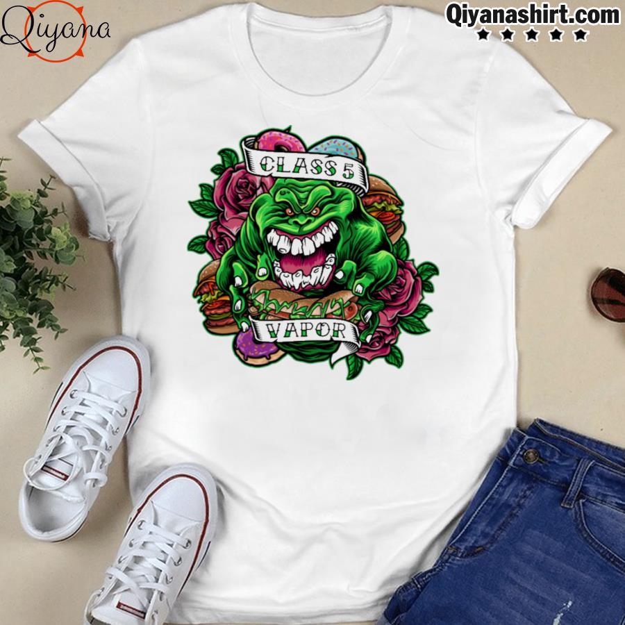 Slimer class 5 vapor shirt