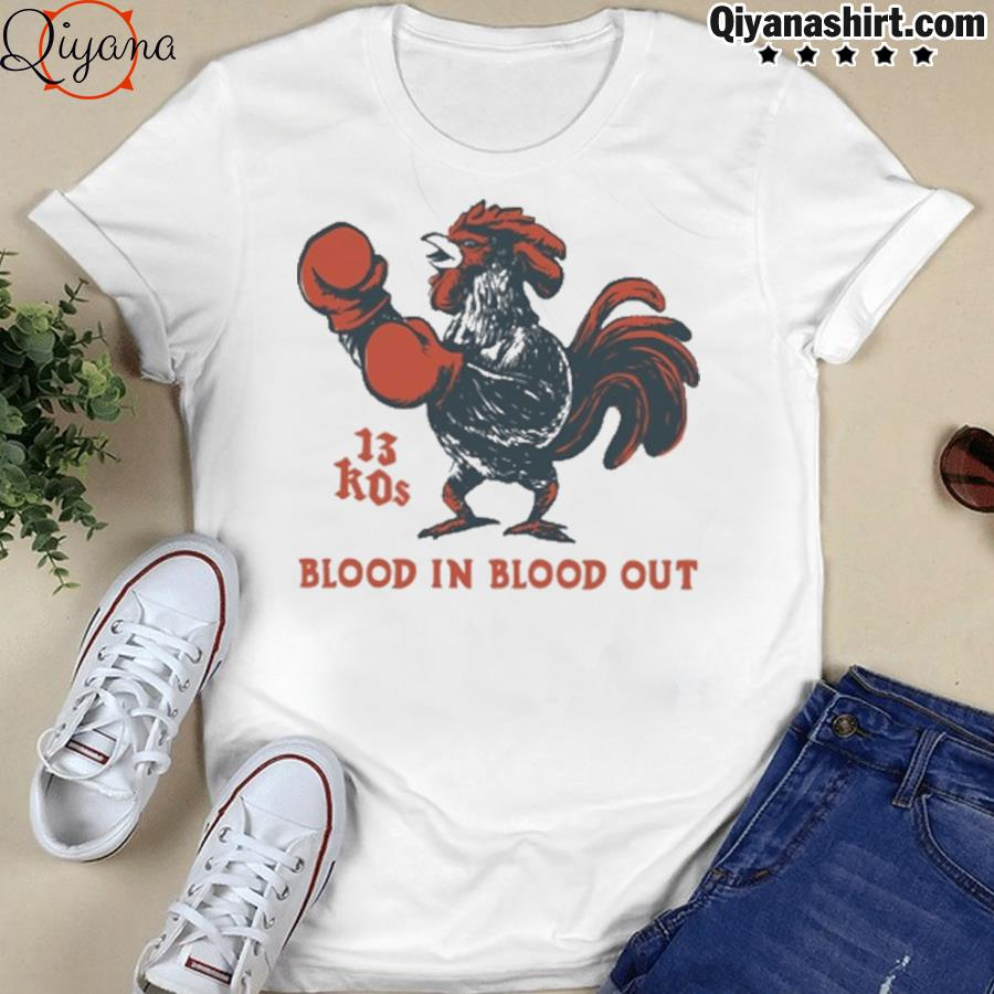 13 kos blood in blood out shirt