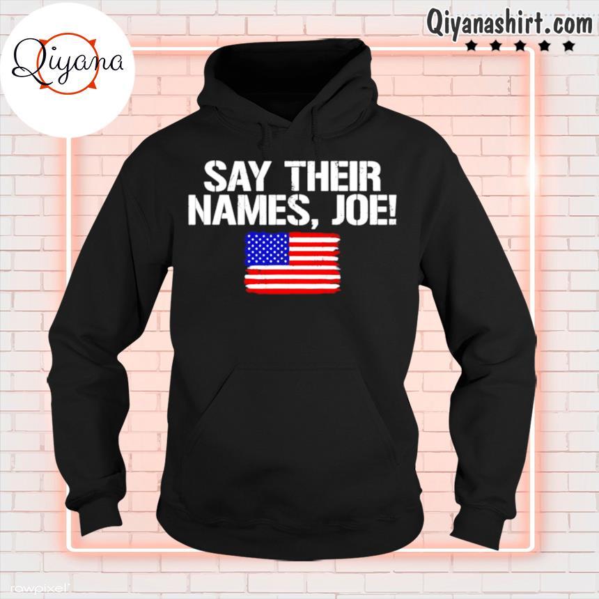 13 soldiers heroes say their names Joe s hoodie-black