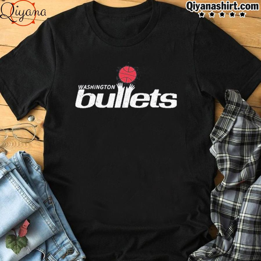 1995 Washington bullets roster basketball logo shirt