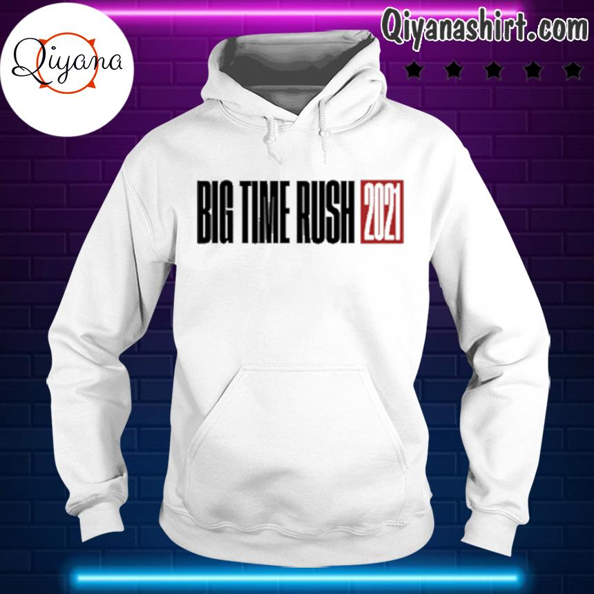 2021 big time rush s hoodie-white