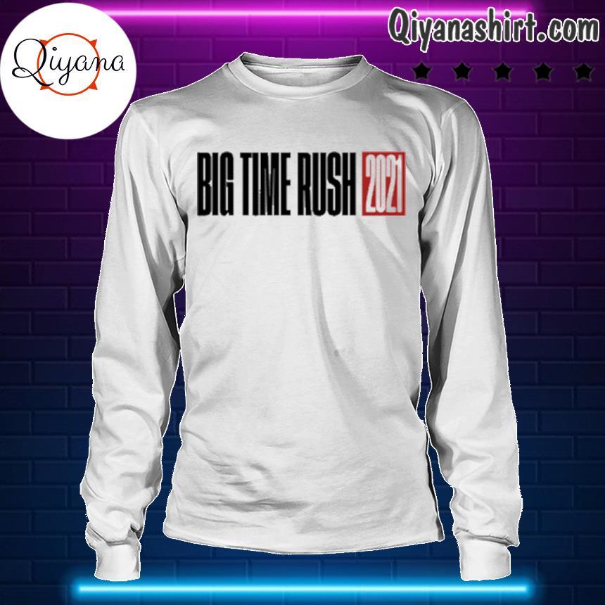 2021 big time rush s longsleve-white