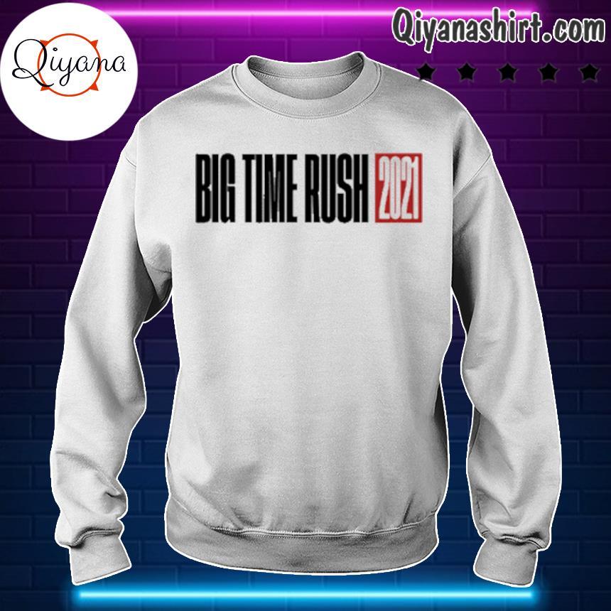 2021 big time rush s sweartshirt-white