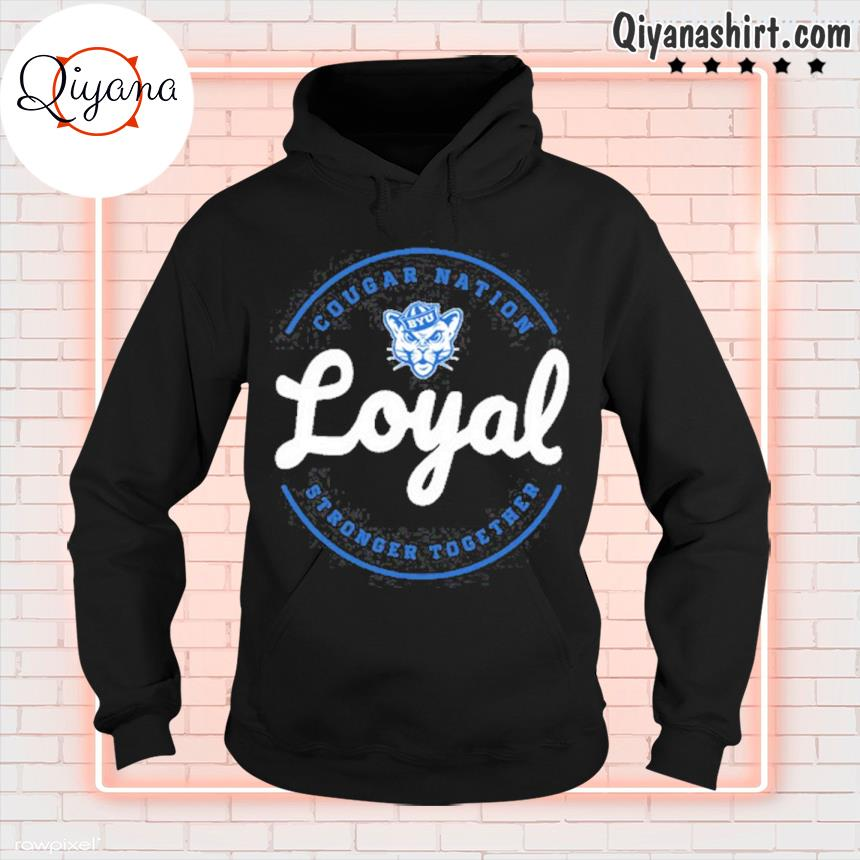 2021 cougar nation loyal gameday byu Football s hoodie-black