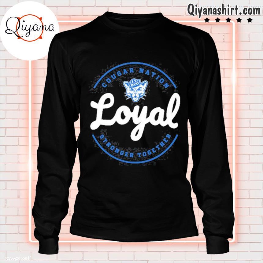 2021 cougar nation loyal gameday byu Football s longsleve-black