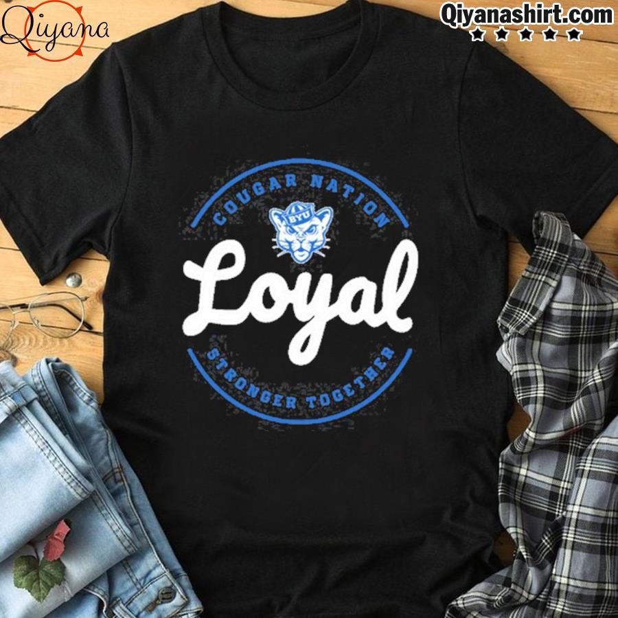 2021 cougar nation loyal gameday byu Football shirt