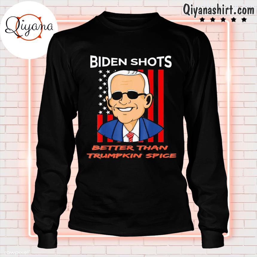 2021 pro joe biden shots trumpkin spice political s longsleve-black