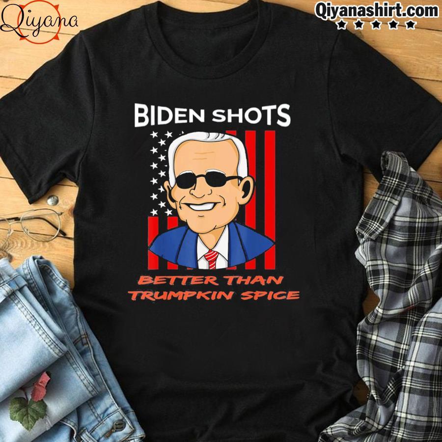 2021 pro joe biden shots trumpkin spice political shirt