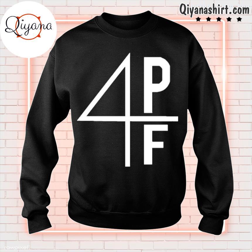 4pf rhinestone 4pf merch s sweatshirt-black