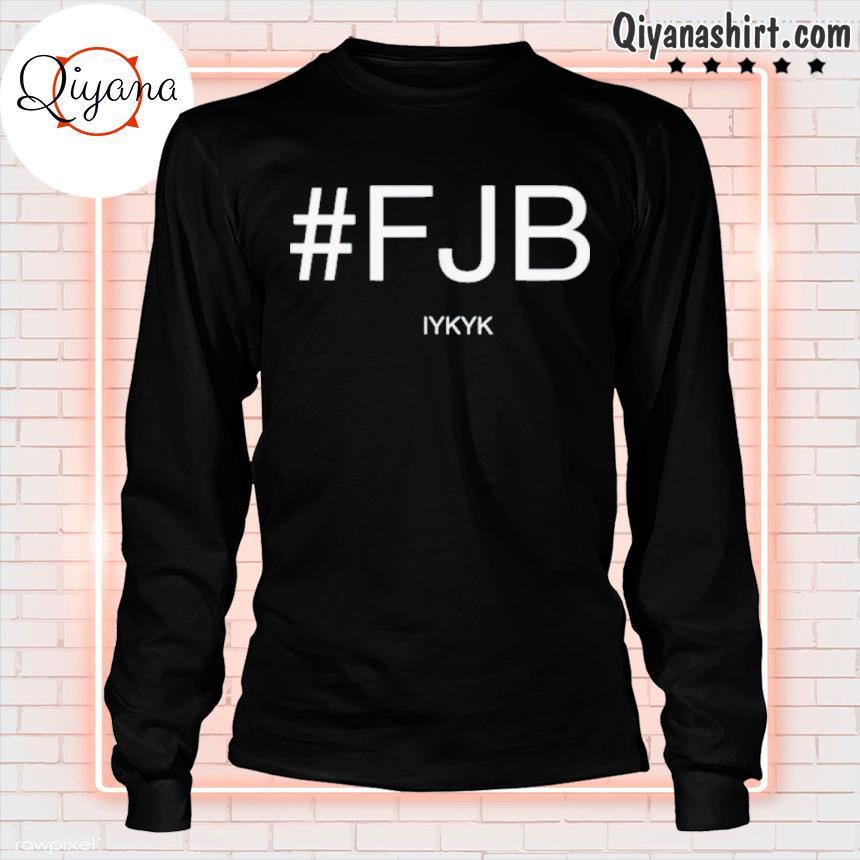 #fjb ifykyk biden shirts longsleve-black