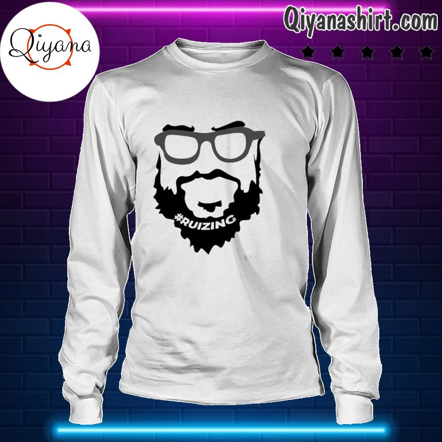 #Ruizing Face Official Shirt longsleve-white