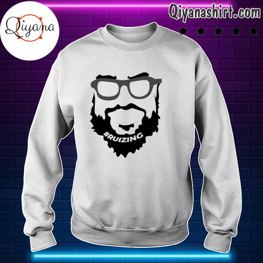 #Ruizing Face Official Shirt sweartshirt-white