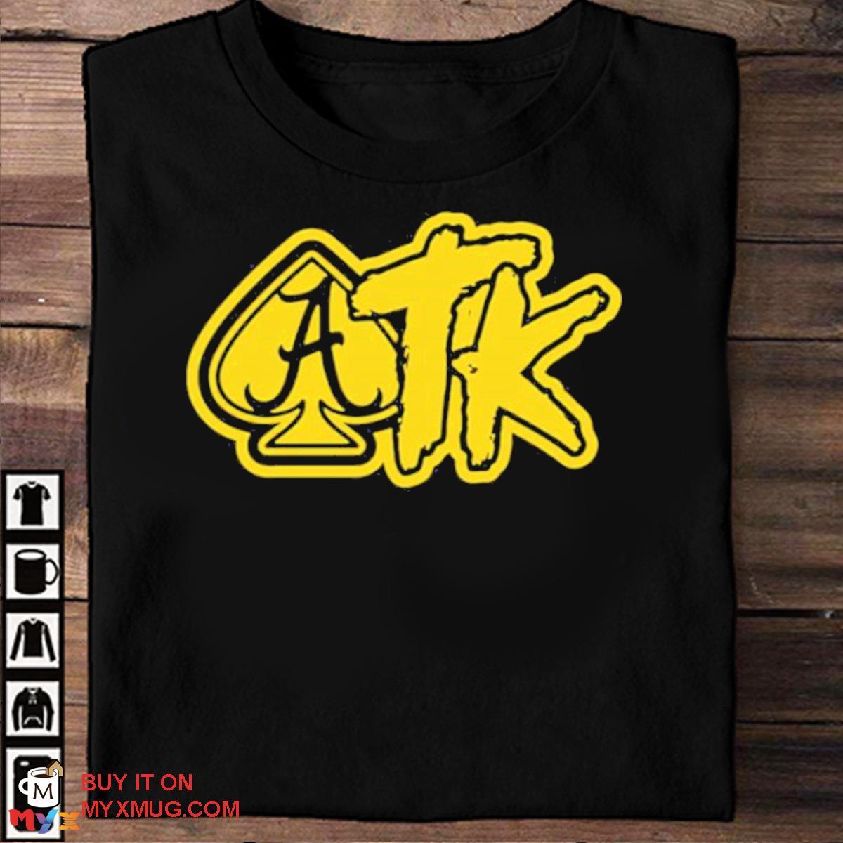 Atk merch spade black shirt